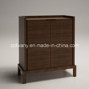 Modern Solid Wood Home Wine Cabinet (SM-D23) pictures & photos