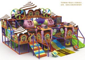 Kaiqi Large Indoor Children′s Ice Cream Adventure Playground (KQ50206A) pictures & photos
