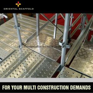 Hot DIP Galvanized Kwikstage Scaffolding Vertical Standard pictures & photos
