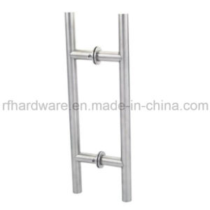 Hollow Stainless Steel Glass Gate Handle (RP001) pictures & photos