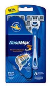 Four Blade Disposable Razor Made of Swiden Stainless Steel pictures & photos
