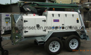 Portable Mobile Light Lighting Tower Generator Set Series pictures & photos