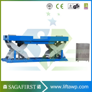 Hydraulic Stationay Lifting Scissor Lift 2 Ton pictures & photos