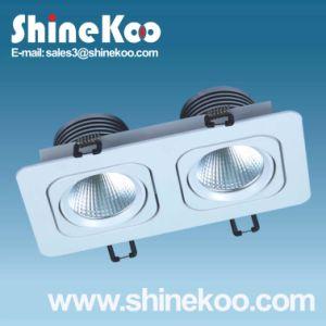 2*3W Aluminium LED COB Downlight (SUN12-2-3W) pictures & photos