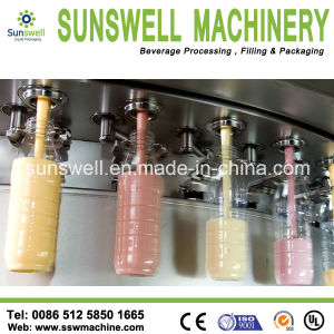 Hot Sale Glass Bottle Juice Hot Filling Machine pictures & photos