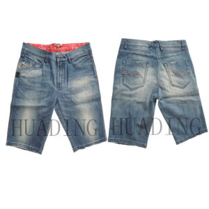 New Fashion Men′s Short Jeans (HDMJ0063) pictures & photos