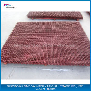 Red Color Screen Mesh with Top Quality Used in Crusher pictures & photos