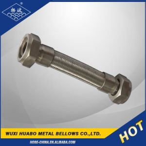 Screwed Joint SUS 304 Bellows Flexible Metal Hose pictures & photos
