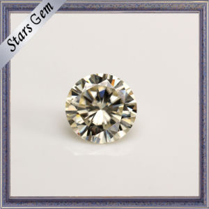 High Quality Light Yellow Color Certificate Moissanite pictures & photos