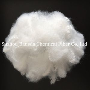 Semi-Dull Competitive Polyester Staple Fiber PSF in White Color pictures & photos