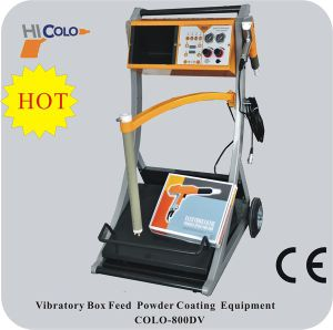 Feed Box Powder Coating Machine with New Trolley L2 pictures & photos