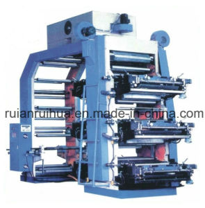 High Speed 6 Colors Flexo Printing Machine (CE) pictures & photos