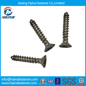 Phosphated Self Wood Screws/ Tapping Screw pictures & photos