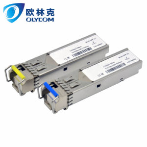 1.25G 20km SM Bidi 1310/1550nm SFP Module with FCC CE (OSBL1G20-35/53) pictures & photos