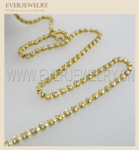 Stock Rhinestone Cup Chain pictures & photos