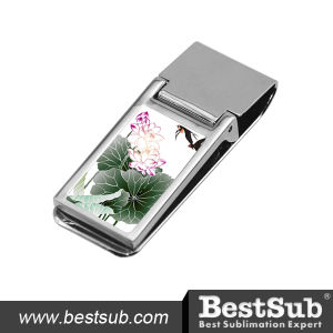 Bestsub Sublimation Cash Clip (QJ02) pictures & photos