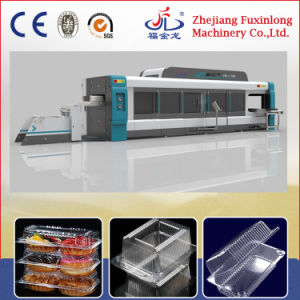 Four-Station Thermoforming Machine for Clamshell Making pictures & photos