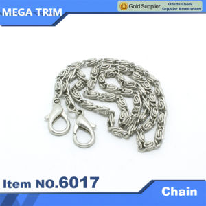 High Quality Sliver Chain with Two Snap Hook pictures & photos