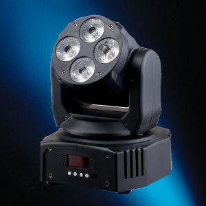 4X15W Rgbawuv Wash Moving Head Professional DJ Lighting