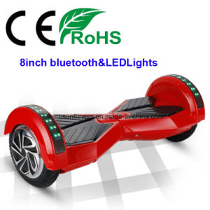 8inch Electric Scooter with Bluetooth &LED Lights pictures & photos