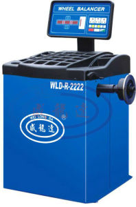 Wld-R-2222 Economy Typre Computerized Car Wheel Balancing Machine pictures & photos