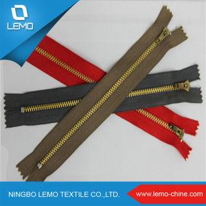 High Quality Fancy Metallic Zipper/Paint Metal Zipper pictures & photos
