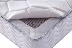 High Quality Bedroom Furniture Knitted Fabric Mattress pictures & photos