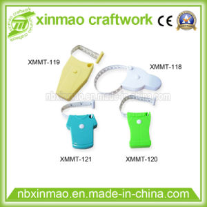 Waist Plastic Promotional Gift with PVC Meter Measuring Tape pictures & photos