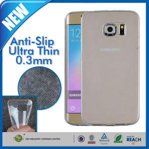 0.3mm Slim Clear Soft TPU Case for Galaxy S6 Edge pictures & photos