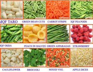 Frozen Vegetable & Fruits