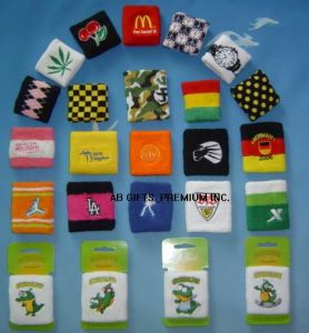 Custom Cotton Sports Terry Wristband with Logo pictures & photos