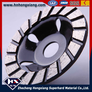 Single Row Diamond Cup Wheel for Stone Grinding pictures & photos