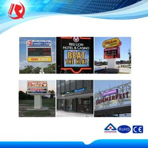 Graphics Display Function and Outdoor Usage P10 LED Display pictures & photos