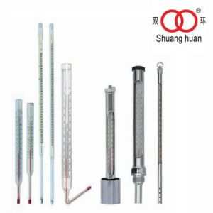 Stainless Steel Screw Connection Marine Use Industrial Glass Thermometer pictures & photos