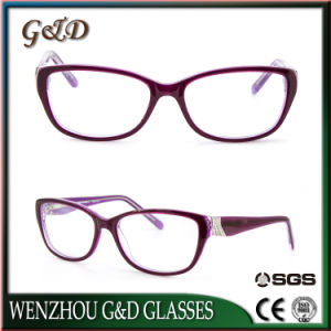 High Quality Latest Acetate Spectacle Optical Frame Eyeglass Eyewear pictures & photos