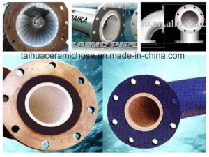 Higher Wear and Corrosion Resistant Ceramic Lined Elbow pictures & photos