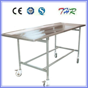 Stainless Steel Embalming Table (THR-105) pictures & photos