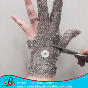 Metal Safety Anti-Cut Gloves 5 Finger pictures & photos