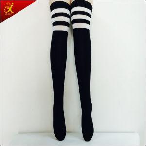 Black Color Lady Long Sock