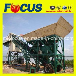25m3-120m3/H Portable Centrale a Beton Mobile, Mobile Concrete Mixing Plant pictures & photos
