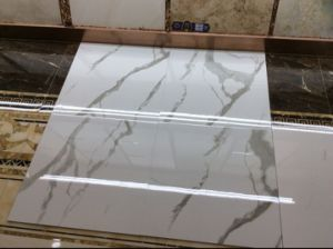 Full Glazed Multiple Patterns Polished Porcelain Tiles Size in 600*600mm pictures & photos