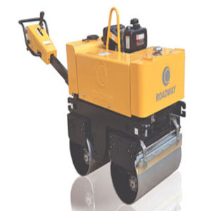 CE Approved 820kg Walk-Behind Vibratory Rollers with Honda Engine pictures & photos