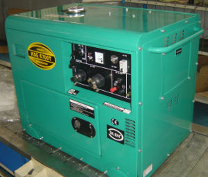 KDE6500T 5kw Silent Diesel Generating Set pictures & photos