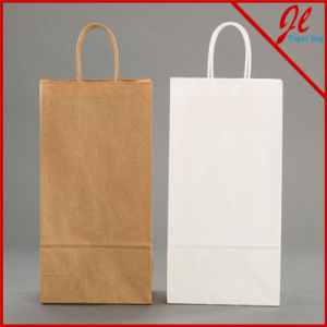 Double Wine Bottle Bag Paper Bags for Wine pictures & photos