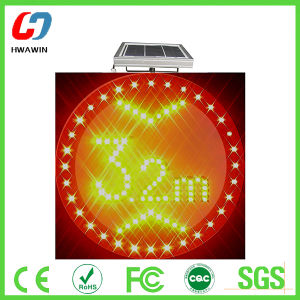 Solar LED Flash Warning Lights pictures & photos