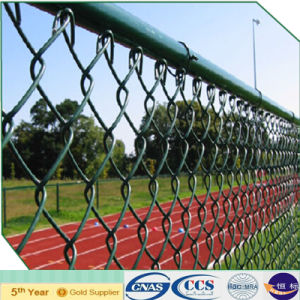 Plastic Coating Sports Ground Fence Chain Link Fencing (XA-CLF4) pictures & photos