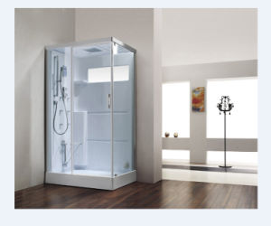 Competely Transparent Tempered Glass Steam Bathroom (M-8276) pictures & photos