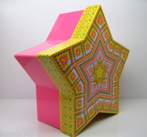 Unique Star Shaped Gift Box / Small Cardboard Box with Lid pictures & photos