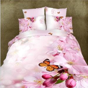 4PCS 100%Cotton 3D Bedding Set pictures & photos