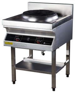Commercial Induction Gas Cooking Stove with Blower---Single Head (FG7E110RG) pictures & photos